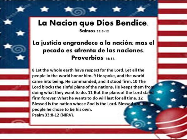 La Nacion que Dios Bendice Jul-02-17