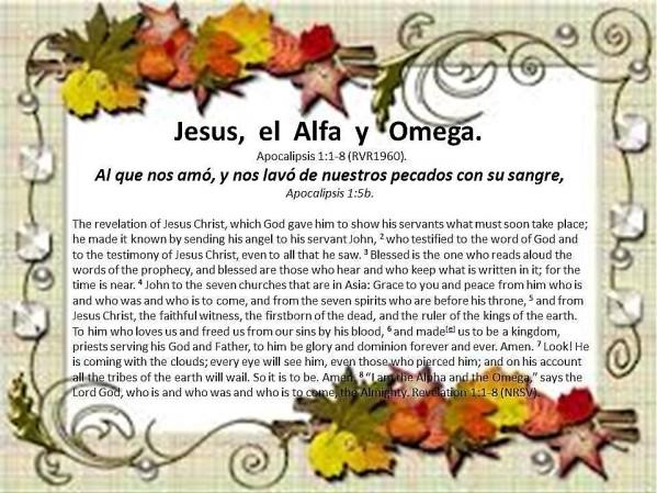 09 Jesus, el Alfa y Omega 091017