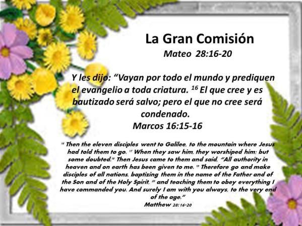 10 La Gran Comision 102917