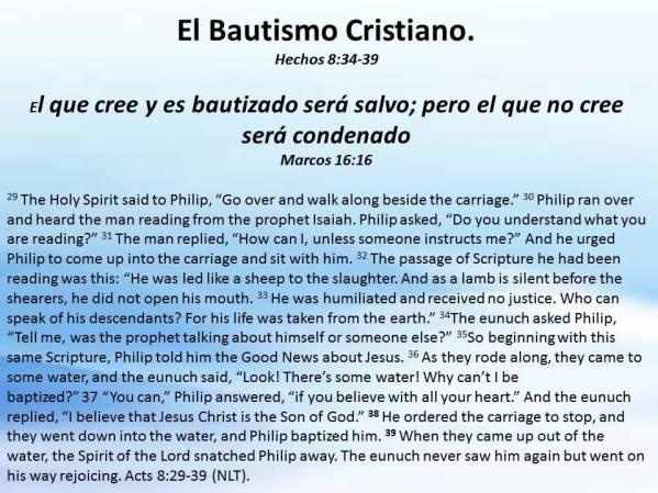 12 El Bautismo Cristiano 121017