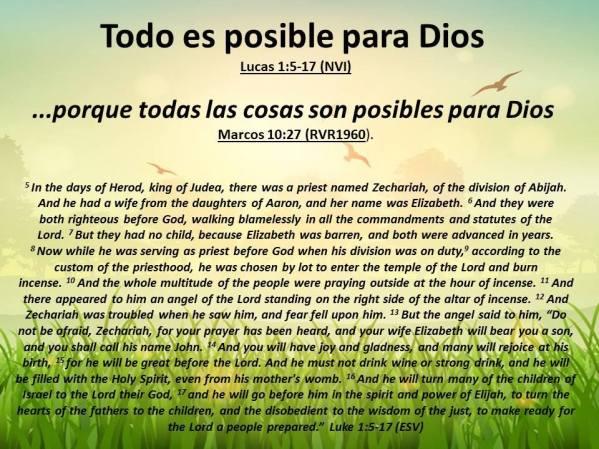 12 Todo es posible para Dios 121717